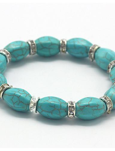abordables Men's Trendy Jewelry-Hombre / Mujer pulsera - Básico Un Color