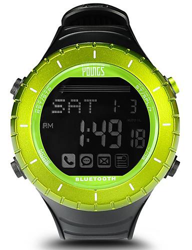 Per Donna Orologio Sportivo All'aperto Di Tendenza Nero Gomma Giapponese Digitale Verde Resistente All'acqua Smart Bluetooth 100 M 1 Set Digitale Un Anno Durata Della Batteria - Lcd #07210781