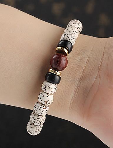 お買い得  Men's Trendy Jewelry-男性用 / 女性用 ベーシック 水玉 / 波点 ブレスレット