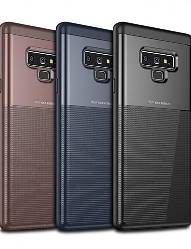 Etui Käyttötarkoitus Samsung Galaxy Note 9 Ultraohut / Himmeä Takakuori Yhtenäinen Kova TPU / PC
