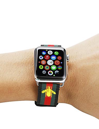 smartwatch עבור סדרת שעונים Apple 4/3/2/1 תפוח קלאסי אבזם ניילון רצועת היד