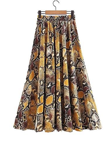 1a0a0019e984 φούστες maxi swing γυναικών - μπλοκ χρώμα. $21.44. USD $14.99(1). Χαμηλού  Κόστους Γυναικείες Φούστες-γυναικεία φούστες swing midi - polka dot