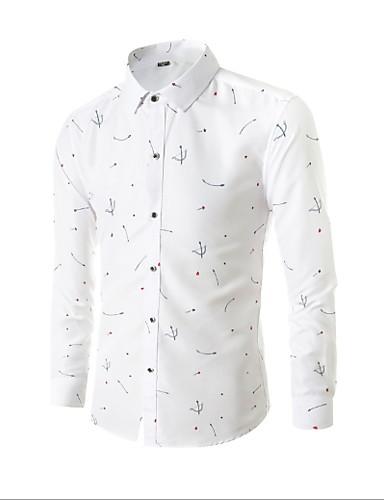 voordelige Herenblazers & kostuums-Heren EU / VS maat Vest Overhemdkraag Katoen / Polyester Marineblauw / Paars / Licht Blauw / Slank