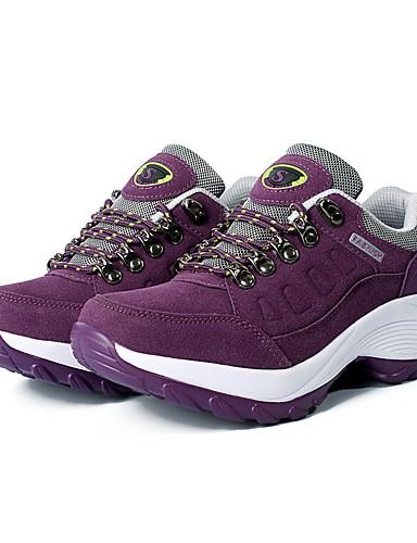 acda3494232 Γυναικεία Παπούτσια Τρεξίματος Αθλητικά Παπούτσια TPU (Θερμοπλαστική  Πολυαιθουράνη) Ταξίδια Περπάτημα Τρέξιμο Ελαφρύ Αναπνέει Άνετο Δέρμα Μαύρο  Φούξια ...
