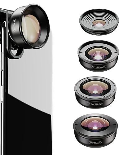 Matkapuhelin Lens Kalansilmäobjektiivi / Pitkäpolttovälinen objektiivi / Laajakulmaobjektiivi lasi / Alumiiniseos 2X 37 mm 0.01 m 195 ° Uusi malli / Tyylikäs