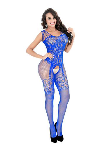 00b0d73c77f abordables Bodys Sexy-Femme Costumes Vêtement de nuit Maille