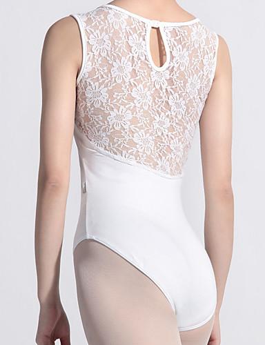 preiswerte Ballettbekleidung-Ballett Turnanzug Damen Training Elasthan Muster / Druck / Kombination Gymnastikanzug / Einteiler