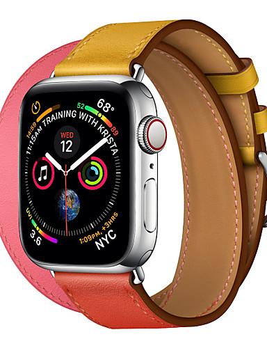 להקה לצפות בסדרה לצפות Apple 4/3/2/1 תפוח קלאסי אבזם עור אמיתי רצועת היד
