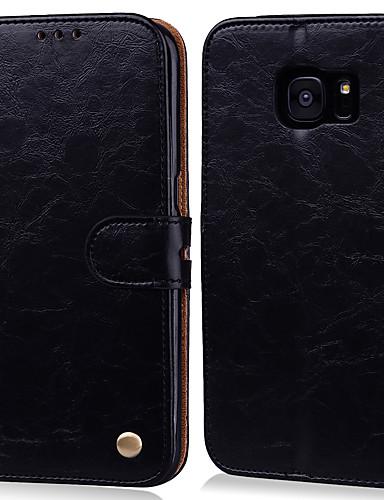 Case For Samsung Galaxy S7 edge / S7 Card Holder / Flip Full