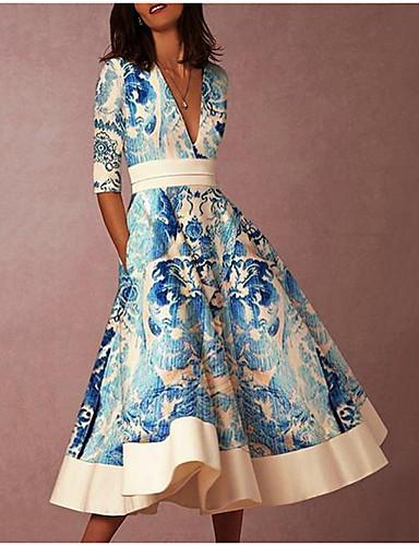 a6671961ad6 cheap Women's Dresses-Women's Boho Swing Dress