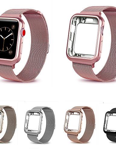 לצפות בסדרה עבור סדרת Apple לצפות 4/3/2/1 Apple milanese לולאה נירוסטה רצועת היד