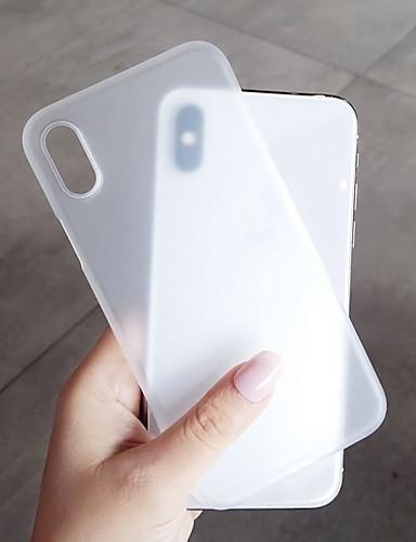 מגן עבור Apple iPhone XS / iPhone XR / iPhone XS Max מזוגג כיסוי אחורי אחיד קשיח פלסטי
