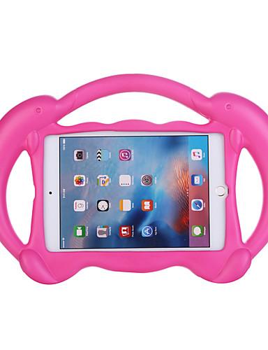 Pouzdro Uyumluluk Apple iPad Mini 5 / iPad Mini 3/2/1 / iPad Mini 4 Çocuk Kilidi Arka Kapak Solid / 3D Karikatür EVA