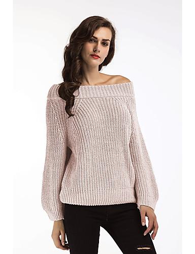 billige Dametopper-T-skjorte Dame - Ensfarget Hvit