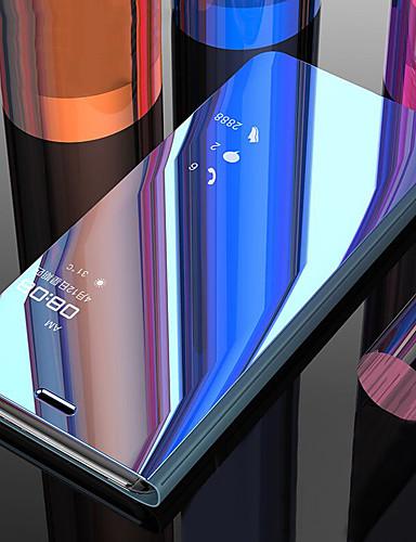 Pouzdro Uyumluluk Xiaomi Xiaomi Redmi Note 6 / Xiaomi Redmi 6 Pro / Xiaomi Redmi Note 7 Şoka Dayanıklı / Satandlı / Ayna Tam Kaplama Kılıf Solid PC / Xiaomi Redmi Note 4X
