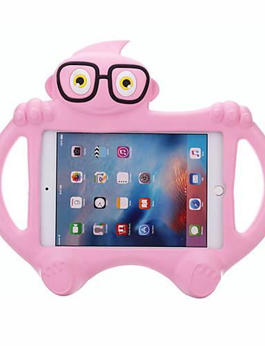 Pouzdro Uyumluluk Apple iPad 4/3/2 Çocuk Kilidi Arka Kapak Solid / 3D Karikatür EVA