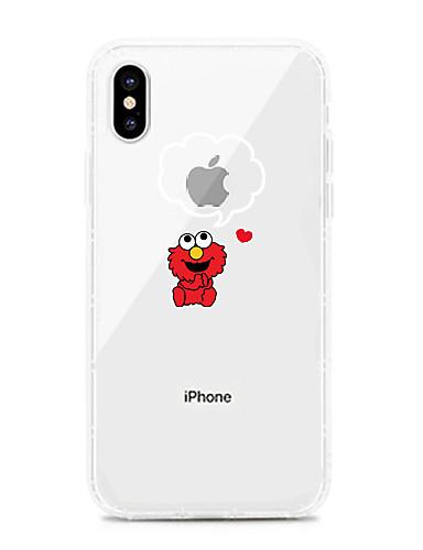 Pouzdro Uyumluluk Apple iPhone XS / iPhone XR / iPhone XS Max Şoka Dayanıklı / Toz Geçirmez / Şeffaf Arka Kapak Şeffaf / Karton TPU