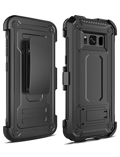 Pouzdro Uyumluluk Samsung Galaxy S8 Şoka Dayanıklı / Satandlı Arka Kapak Zırh PC