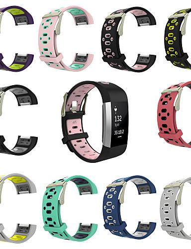 Watch Band için Fitbit Charge 2 Fitbit Spor Bantları Silikon Bilek Askısı