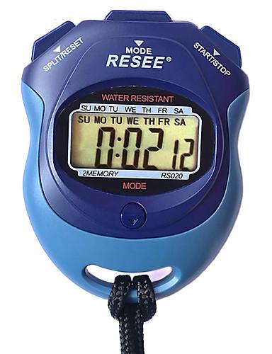 Casal Relógio Esportivo Japanês Digital Preta 30 m Luminoso Novo Design Relogio Despertador Digital Ao ar Livre Nova chegada - Azul Dois anos Ciclo de Vida da Bateria
