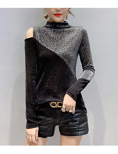 billige Dametopper-Body Dame - Fargeblokk Grunnleggende / Elegant Gull