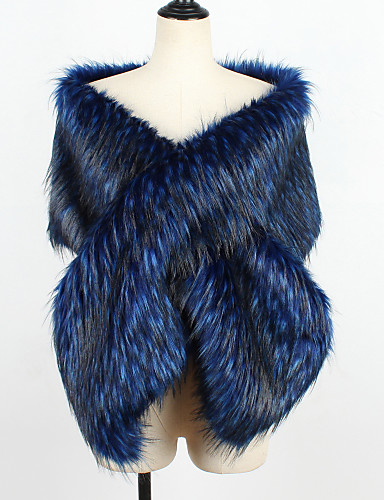 billige Brudesjaler-Ermeløs Fuskepels Bryllup Sjal til kvinner Med Solid Sjale