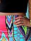 Недорогие Брюки-Для женщин Слабоэластичная Джинсы Брюки,С высокой талией С принтом