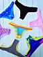abordables Biquinis y Bañadores para Mujer-Mujer Deportes Halter Amarillo Verde Azul Partes Inferiores Bañadores - Bloques Novedad M L XL / Sexy