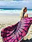 billige Strandhåndklæde-Dame Boheme Strandhåndklæde - Geometrisk, Trykt mønster / Bomuld