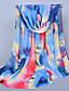 halpa Värikkäät sifonkihuivit-Naiset Vintage Sievä Vapaa-aika Neliskulmainen,Painettu Kaikki vuodenajat Sifonki