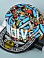 billige Trendy hatter-Dame Solhatt Baseballcaps Fargeblokk Bomull