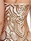 A-linja Olkaimeton Nilkkapituinen Paljetein koristeltu Muodollinen iltajuhla Mekko kanssa Paljetit mennessä TS Couture®