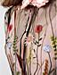 abordables Vestidos de Noche-Corte en A Cuello Alto Hasta el Suelo Raso / Tul Dos Piezas / See Through / Inspiración Vintage Evento Formal Vestido con Bordados por TS Couture®