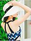 preiswerte Bikinis und Bademode 2017-Damen Stirnband Einteiler Quasten Polyester,Streifen