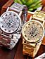 baratos Relógio Elegante-Homens Único Criativo relógio Relógio de Pulso Relógio Elegante Relógio de Moda Relógio Casual Chinês Quartzo Venda imperdível Lega Banda
