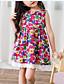 cheap Girls' Dresses-Girl's Floral Dress,Cotton Summer Sleeveless