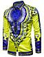 cheap Men's Shirts-Men's Vintage / Boho Cotton Slim Shirt - Tribal Print Classic Collar / Long Sleeve