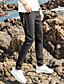 זול מכנסיים ושורטים לגברים-בגדי ריקוד גברים סגנון רחוב מידות גדולות כותנה סקיני צ'ינו מכנסיים אחיד