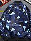 ieftine Jachete & Paltoane Bărbați-Bărbați Stand Jachetă De Bază - Geometric / Manșon Lung