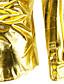levne Pánské košile-Pánské - Jednobarevné Párty / Klub Luxus / Punk & Gothic Košile, Základní Bavlna Stojáček Štíhlý Černá L / Dlouhý rukáv / Jaro