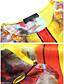 olcso Print Dresses-Női Nadrág - Absztrakt Nyomtatott Sárga / Bő / Szabadság / Alkalmi