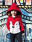 levne Dětské bundičky a kabátky-Dítě Dívčí Aktivní / Základní Tisk Tisk Standardní Bavlna / Spandex Bundičky a kabáty Světlá růžová