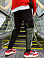 お買い得  メンズパンツ&ショーツ-男性用 ストリートファッション チノパン パンツ - レタード ブラック