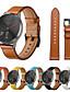 זול להקות Smartwatch-להקת שעונים עבור garmin vivomove hr 20mm אמיתי צמיד עור שעונים