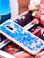 זול מגנים לטלפון-מגן עבור Samsung Galaxy Galaxy A7(2018) / A5 (2017) / A8 2018 נוזל זורם / זוהר ונוצץ כיסוי אחורי זוהר ונוצץ רך TPU