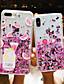 hesapli iPhone Kılıfları-Pouzdro Uyumluluk Apple iPhone XS / iPhone XS Max / iPhone 8 Plus Toz Geçirmez / Temalı / Işıltılı Parlak Arka Kapak Yiyecek / Karton PC