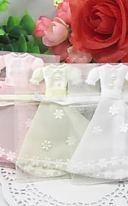 nydelig kjole utforming favoriserer poser - sett med 12 (flere farger)