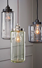 Vintage Traditional/Classic Retro Pendant Light For Living Room Dining Room AC110-240V Bulb Included
