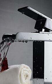 Wastafel kraan - Waterherfst Chroom Middenset Een Hole / Single Handle Een Hole