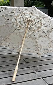 """Pylväskahva Pitsi Häät Päivittäin Naamiaiset Hiekkaranta Sateenvarjo Saateenvarjot 30,7""""(noin 78cm)"""